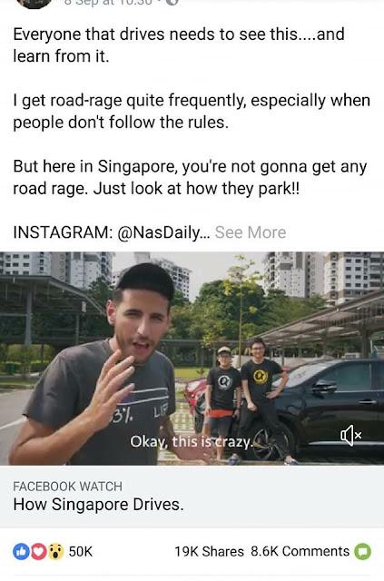 Harap si bodoh @NasDaily1 ni buat kerja sikit lah sebelum buat video
