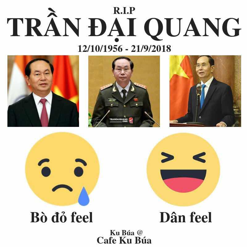 Image result for Thấy gì qua cái chết của Chủ tịch Trần Đại Quang?