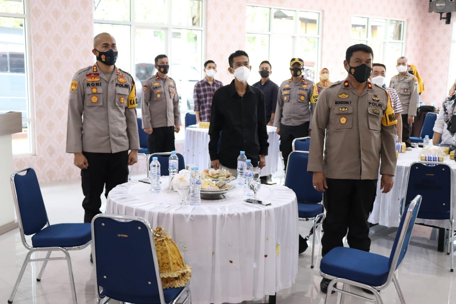 Bertajuk Silaturahmi dan Tatap Muka, Kapolres Soppeng Bersama Pengurus Persaudaraan UMKM Bahas Pencegahan Virus Corona
