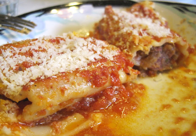 Cannelloni with Beef (Cannelloni di Manzo)