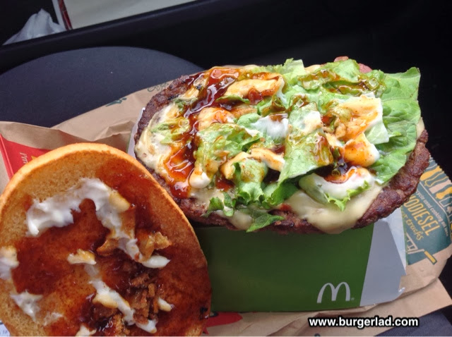 McDonald's South African Deluxe Burger Review