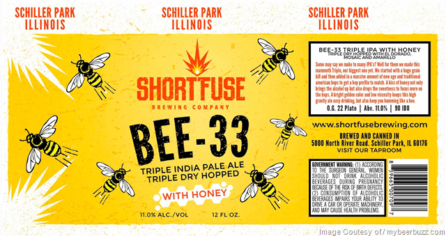 Short Fuse Brewing - Bee-33