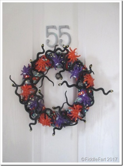 Halloween Door Wreath 8