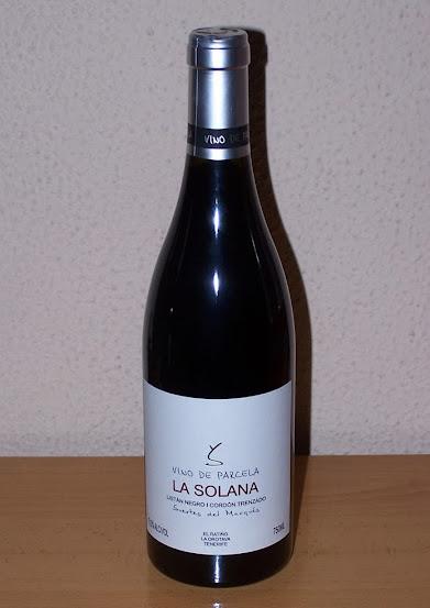 La Solana 2011, D.o. Valle de la Orotava