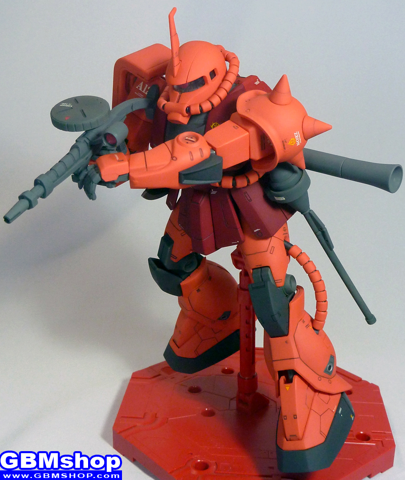 Bandai MG 1/100 MS-06S Zaku II Commander Type Version 1 Char Aznable custom
