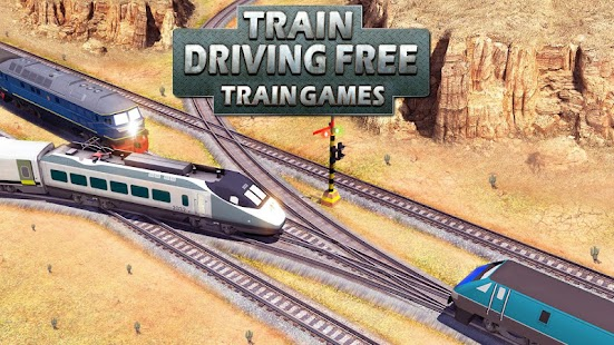 Train Driving Free -Train Games - náhled