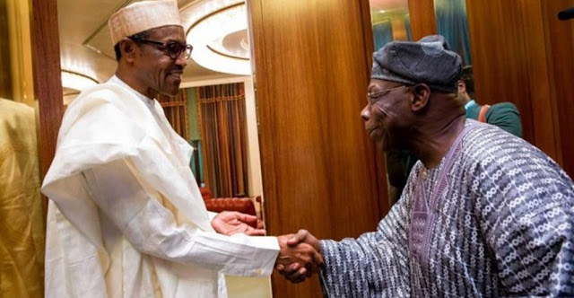 """President Buhari Has Not Disappointed Me""- Obasanjo Reveals"