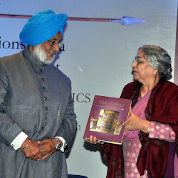 Bhayee Sikandar Singh and Mrs Gursharan Kaur discuss the book Sikh Heritage: Ethis and Relics