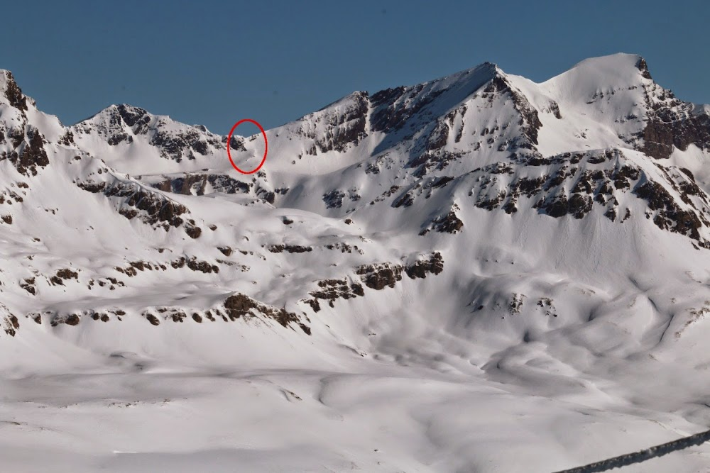 Avalanche Haute Maurienne, secteur Grande Aiguille Rousse, Col du Montet ; Itinéraire du refuge du Carro vers Prarion - Photo 1