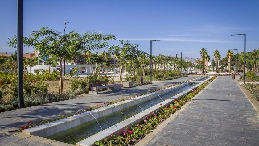 Imagen de archivo del Parque de las Familias.