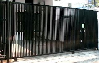 contoh pagar besi hollow