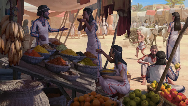 Bananas in the Bronze Age