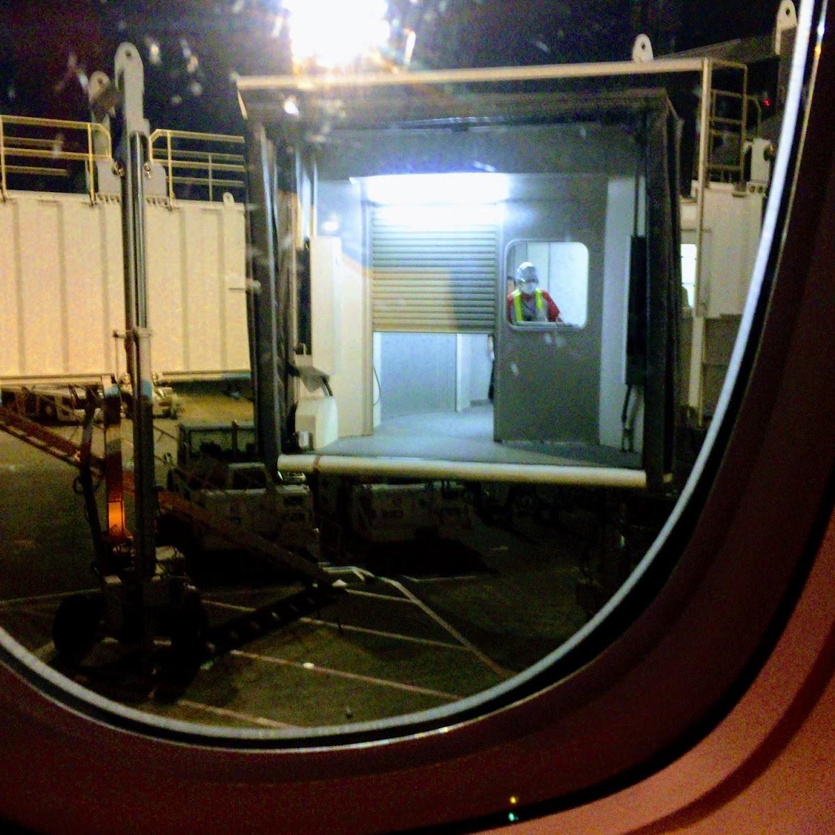 JAL914 OKA-HND 国内線ファーストクラス 2015年12月   機上百景