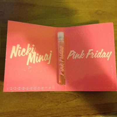 "Nicki Minaj ""Pink Friday"" Perfume 0.04 fl oz -- intrice.blogspot.com"