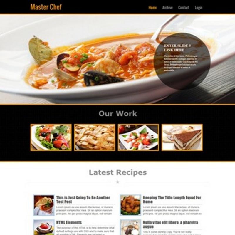 Blogger book i migliori templates per blogger per food blogger e blog di cucina - I migliori blog di cucina ...