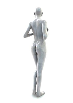 femme 3D pose artistique matiere nacre 3-05c