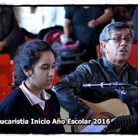 Eucaristia Inicio Escolar 2016 - Marzo