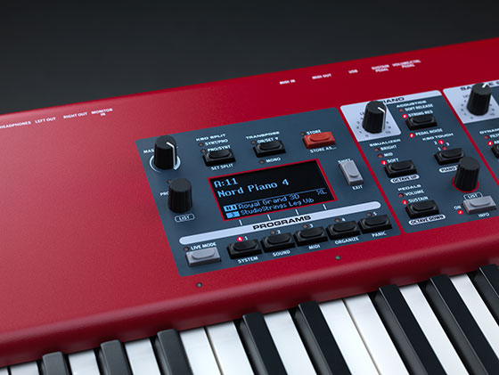 Nord Piano 4 Program Section Angled 560