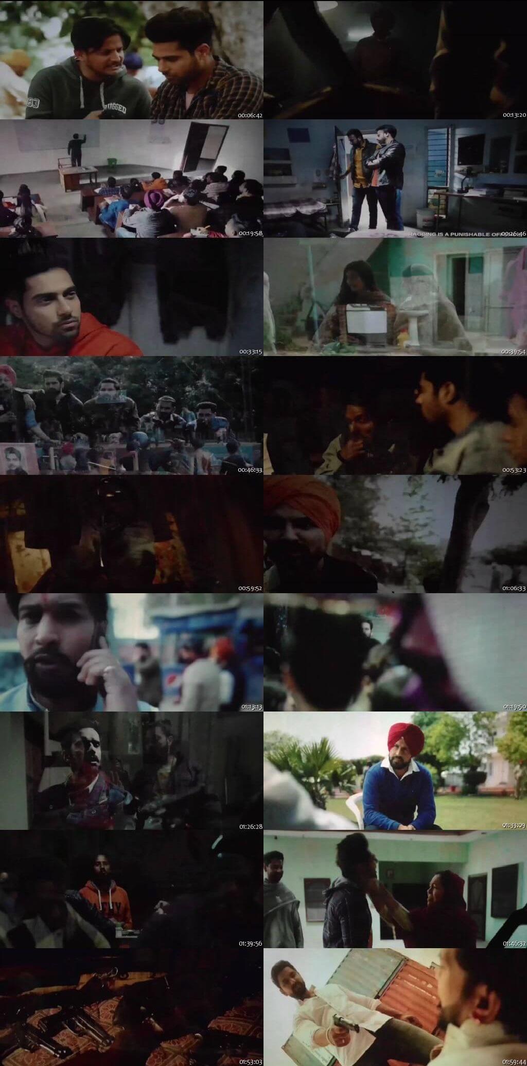 Screen Shot Of Sikander 2 2019 300MB PdvdRip 480P Full Punjabi Movie Watch Online Free Download