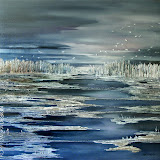 Winter Lake / 36in x 36in /$2,200.00