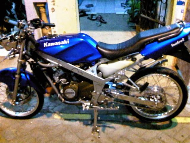 Ninja 150 R Modifikasi Minimalis
