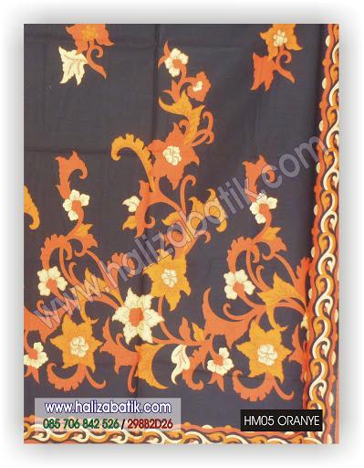 Batik Murah, Jual Batik Online, Harga Batik, HM05 ORANYE