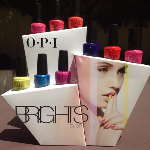 THE CLUTTERED COUNTER: OPI Brights 2015: Swatches and Review