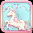 Unicorn lovely Theme icon