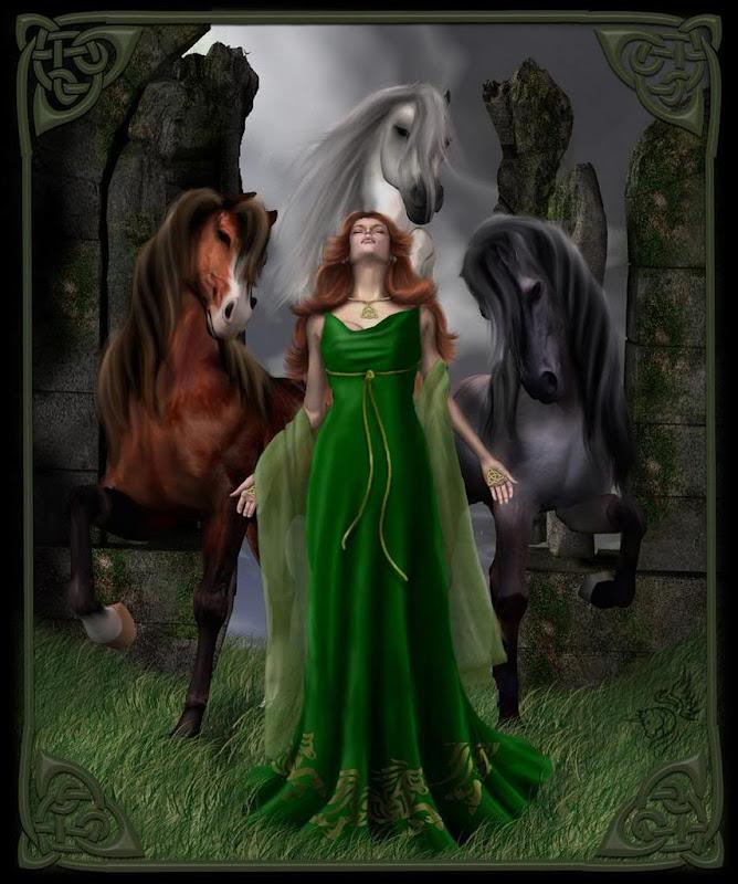 Green Goddess, Celtic And Druids