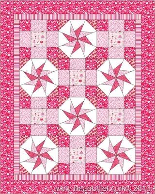 Baby Pink Kaleidoscope