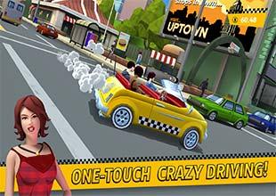 تحميل لعبة سيارات Crazy Taxi City Rush