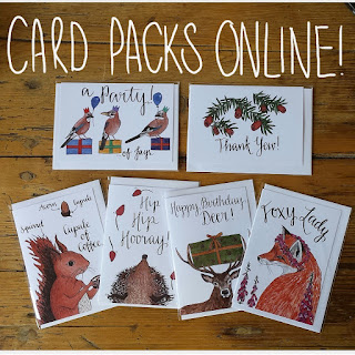 All occasions greeting card pack by Alice Draws The Line