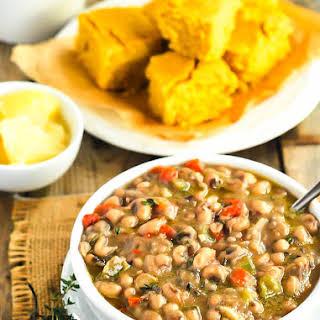 Southern Black-Eyed Peas (Vegan).