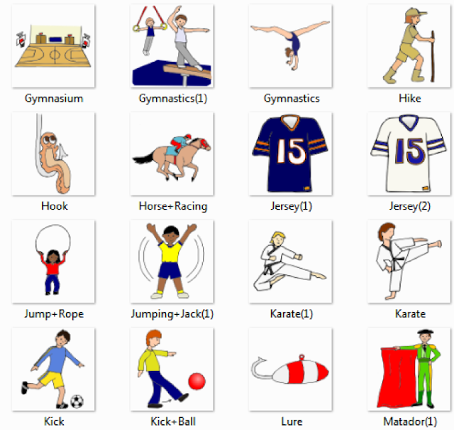 Sports%2520%2526%2520Leisure%2520Pictures%2520for%2520Classroom%2520and%2520Therapy%2520 5  Sport, exercise actions  people english through pictures