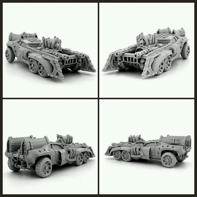ARMORED BATTLE CAR wargame exclusive