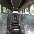 Het interieur van de Bova Futura van Connexxion tours bus 165