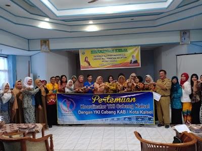 Kunjungi Kotabaru, YKI Sosialisasi Deteksi Dini Kanker