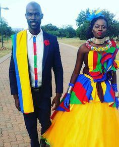 ndebele wedding dresses 2017