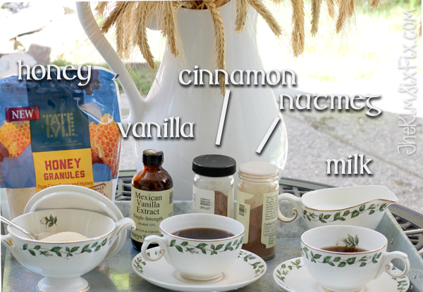 Ingredients for cafe de miel
