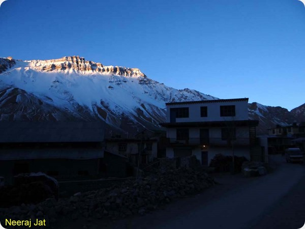 Morning in Kaza