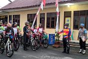 Kapolres Batu Bara Pimpin Goes Sepeda, Masa Pandemi Covid-19 Jaga Stamina Tubuh dengan Olahraga