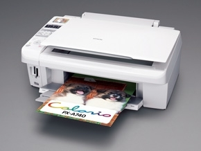 How to reset flashing lights for Epson PX-A740 printer