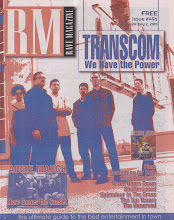 Photo: Cover of Rave Magazine, June 2001.