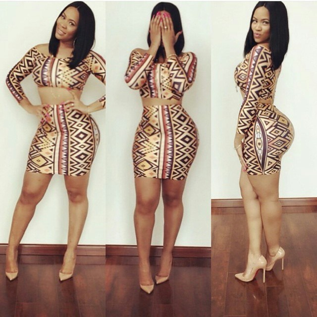 latest short ankara gown styles (7)