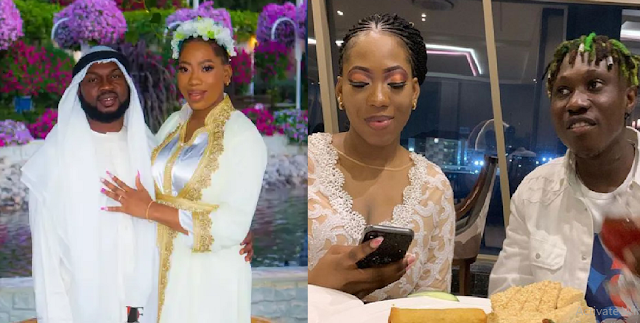 Lincon Shows Off His 'Baby' Few Hours After Dragging His Wife Bolanle On Instagram Yesterday