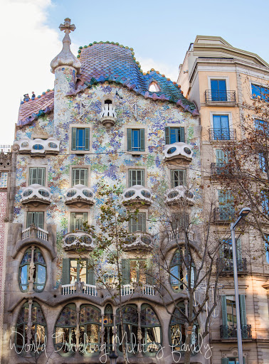 Barcelona, Spain - Touring the city in One Day