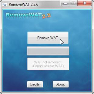 """วิธีแก้ไขเมื่อ Windows 7 เกิดอาการ """"จอดำ"""" RemoveWat005"""