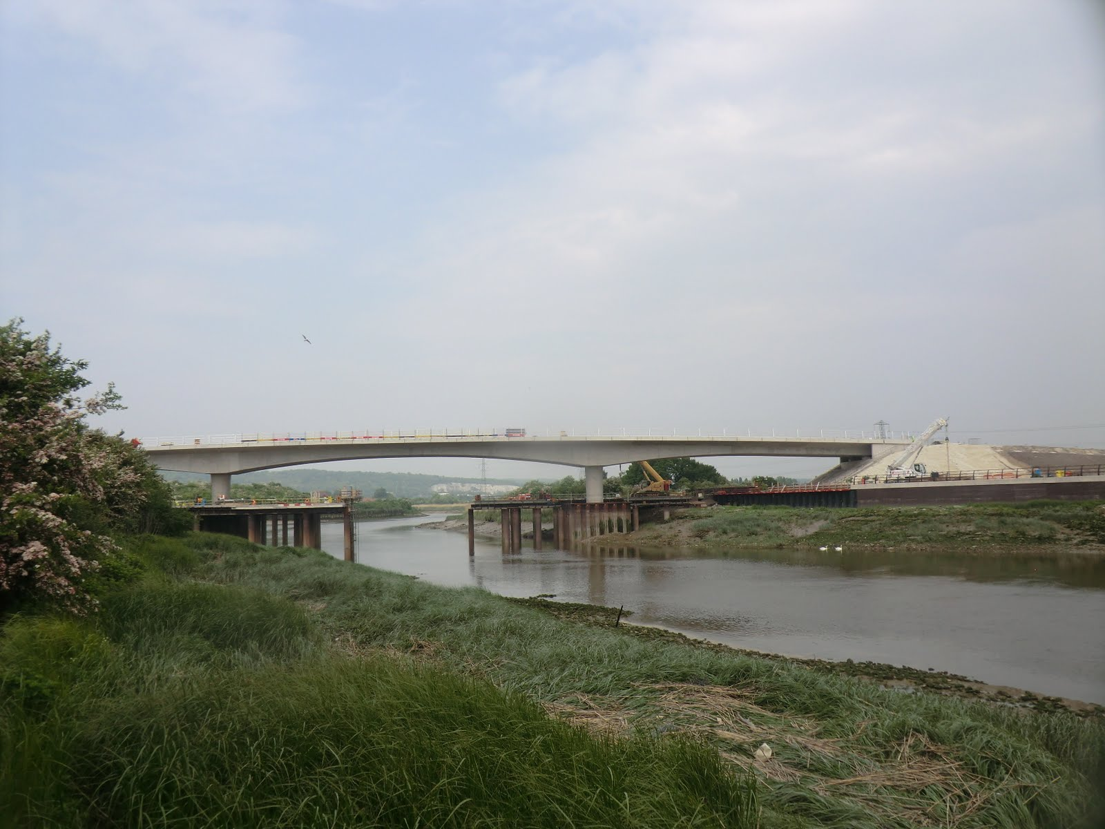 CIMG4438 New Medway Crossing at Holborough