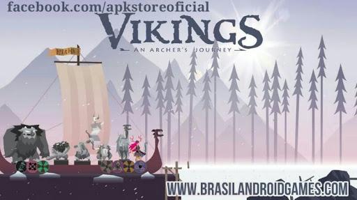 Vikings: an Archer's Journey APK MOD DINHEIRO INFINITO