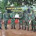 Kakesdam XVII/Cenderawasih Kunjungi Pos Kout Satgas Pamtas Yonif 125/Simbisa